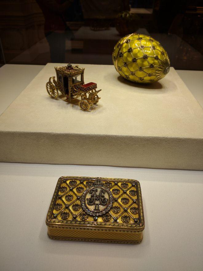 Museu Faberge Petersburgo ovo da coroação