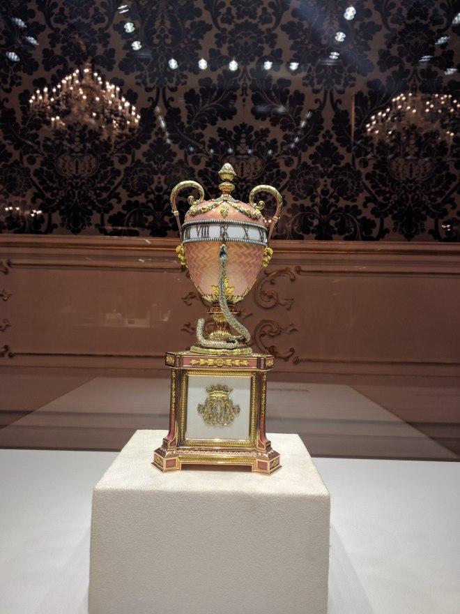 Museu Faberge Petersburgo ovo da duquesa de Marlborough