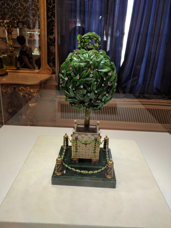 Museu Faberge Petersburgo ovo da laranjeira