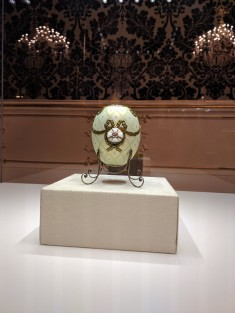Museu Faberge Petersburgo ovo da ordem de são jorge