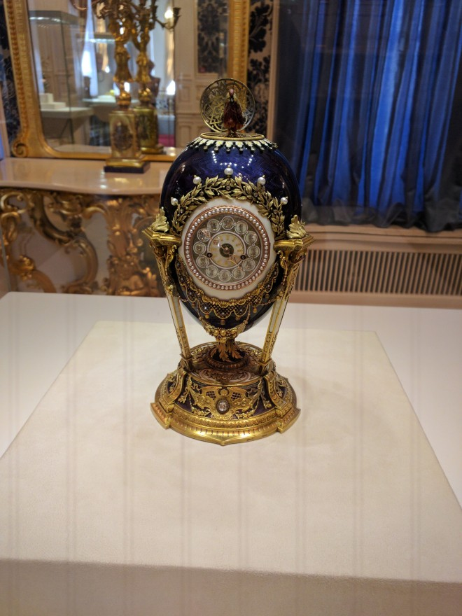 Museu Faberge Petersburgo ovo do galo