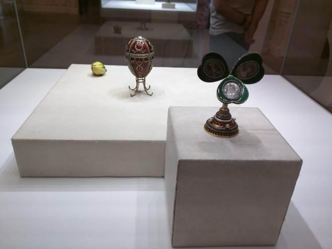 Museu Faberge Petersburgo ovo Rosebud