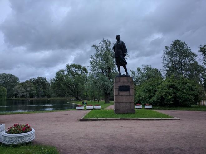 Petersburgo bairro sovietico moskovski parque pobeda vitoria