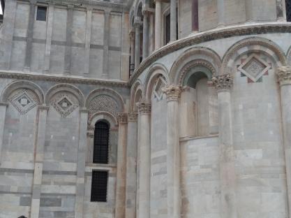 pisa catedral detalhe