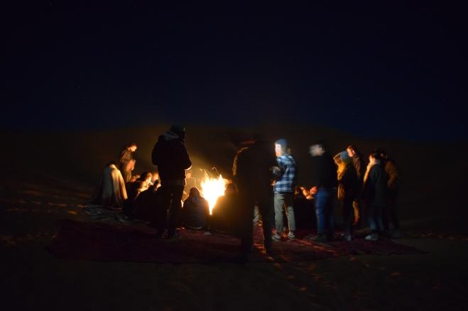 Saara Marrocos fogueira