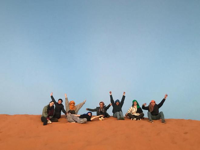 Saara Marrocos grupo