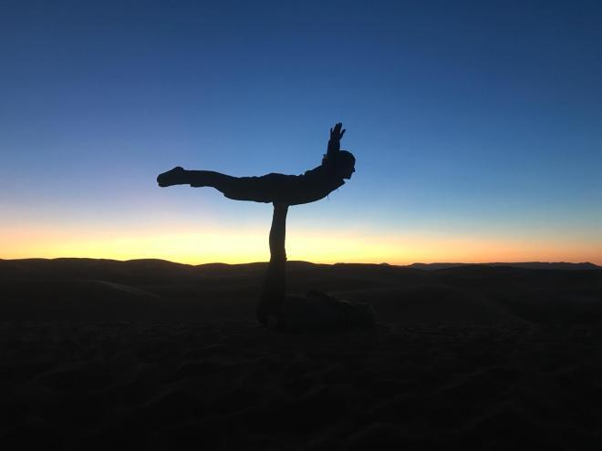 Saara Marrocos por do sol nas dunas 2