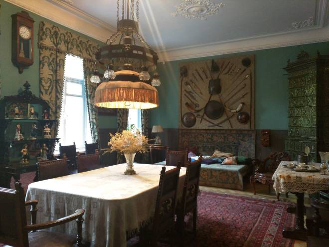 Sala de jantar apartamento de Chaliapin