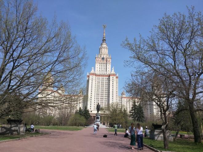 Sete irmãs arranha ceus moscou stalin universidade lomonossov