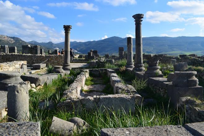 Volubilis ruinas romanas Marrocos 4