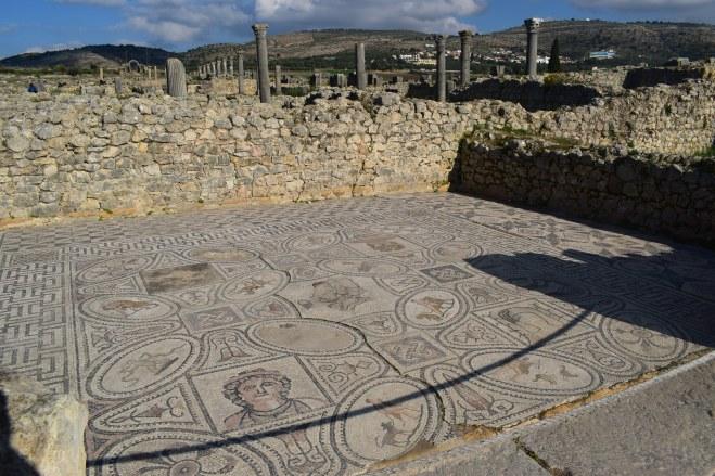 Volubilis ruinas romanas Marrocos doze trabalhos hercules