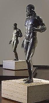 reggio calabria bronzes de riace estatuas bronze grecia antiga