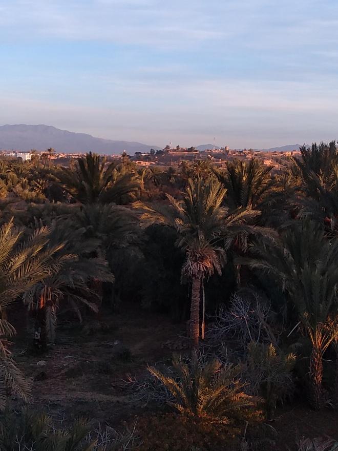 Ouarzazate vista albergue cinema riad