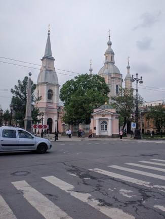Petersburgo ilha vassilievski igreja sao andre