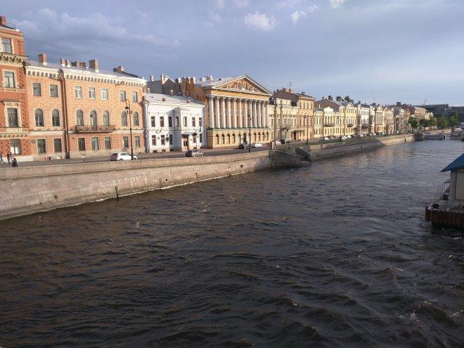 Petersburgo ilha vassilievski vista