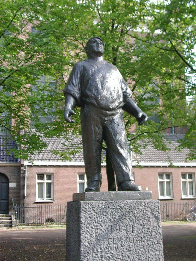Lugares segunda guerra Amsterdam dokwerker