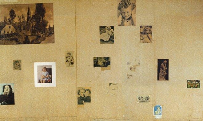 museu anne frank amsterdam fotos nas paredes