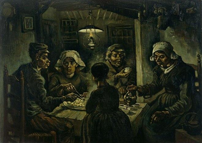 van gogh museu amsterdam comedores batata