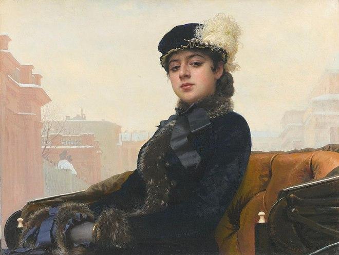 moscou galeria tretiakov kramskoi retrato desconhecida