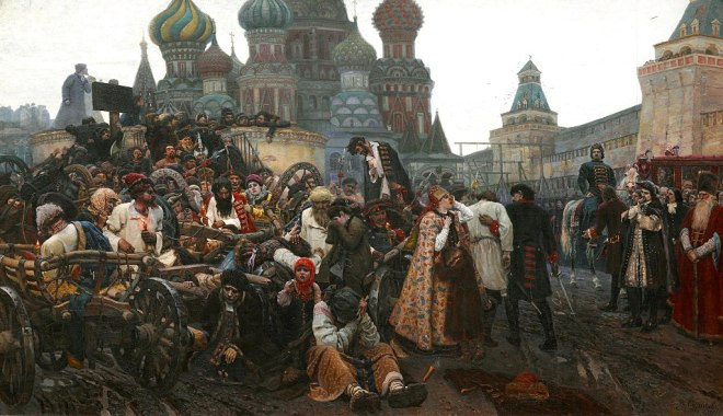 moscou galeria tretiakov surikov manhã execução streltsi