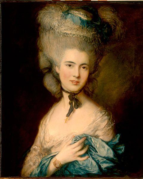 Hermitage pinacoteca destaques gainsborough dama azul