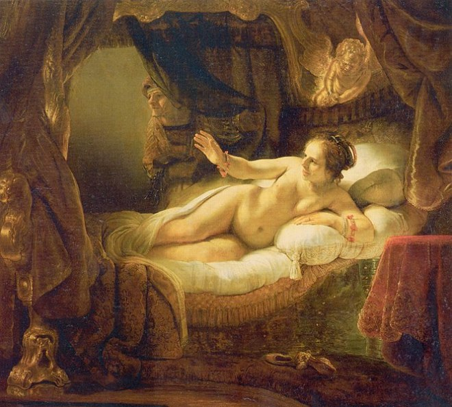 Hermitage pinacoteca destaques rembrandt danae
