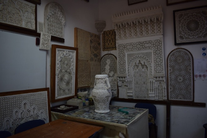 Marrocos Tetouan cidade criativa escola artesanato 1