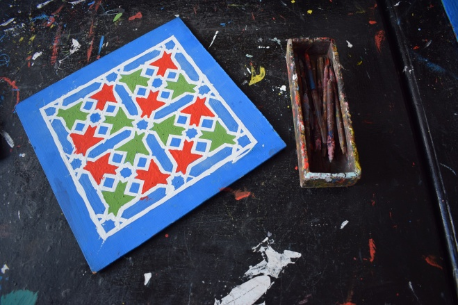 Marrocos Tetouan cidade criativa escola artesanato 2