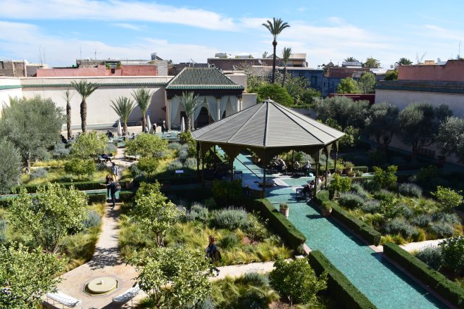 marrocos marrakech jardin secret medina 1