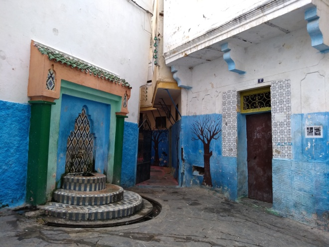 Marrocos Tangier medina fonte