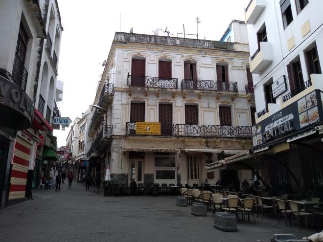 Marrocos Tangier medina petit socco