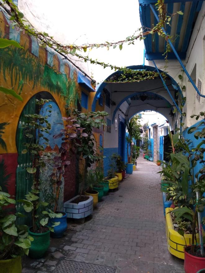 Marrocos Tangier medina ruas