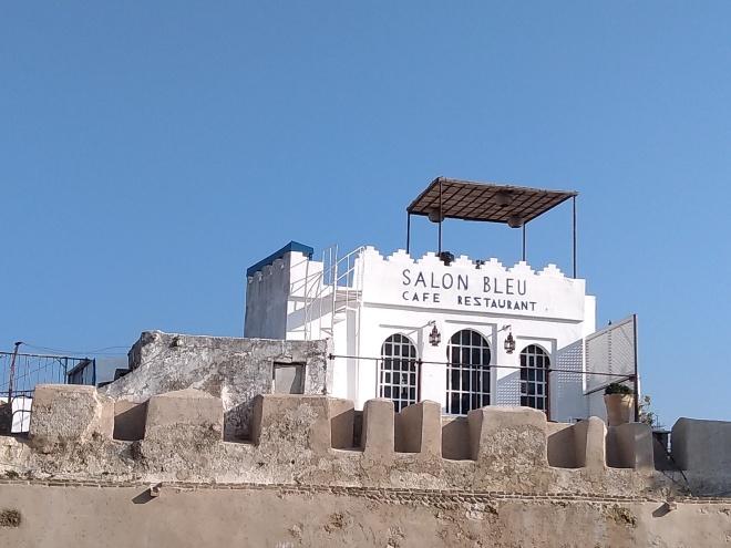 Marrocos Tangier medina salon bleu