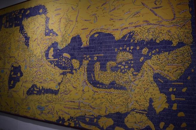 Marrocos Tangier museu arte kasbah mapa mediterrâneo com a áfrica em cima