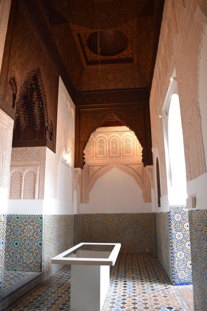 Marrocos Tangier museu Kasbah espelhos